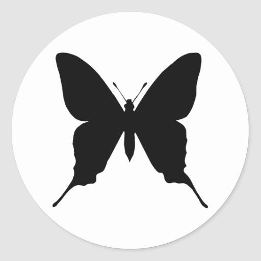 Iphiclides podalirius classic round sticker