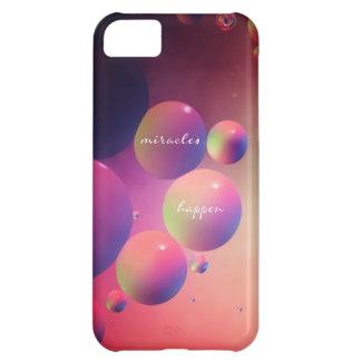 iphone4- case miracles happen iPhone 5C case