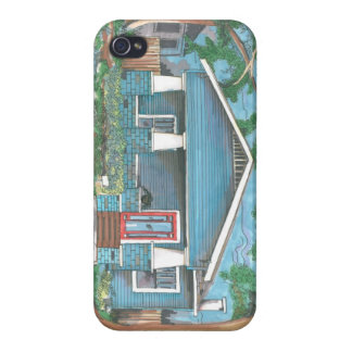 IPhone4 Craftsman Bungalow Case Cover For iPhone 4