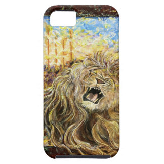 iphone4 hard case: Lion of Judah: Day of the Lord iPhone 5 Cases