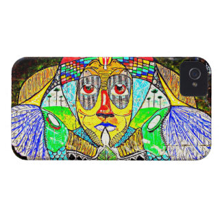 IPhone4  Street Art Cool Exclusives Rainbow Gods Case-Mate iPhone 4 Case