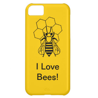 iPhone5 CM/BT - I love Bees! iPhone 5C Cover