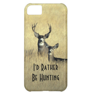 iPhone5 Masculine White Tail Mule Deer Buck Doe Cover For iPhone 5C