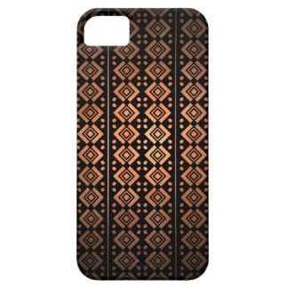 iPhone5 Orange Black Aztec Tribal Pattern iPhone 5 Case