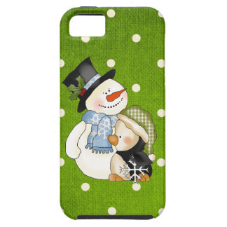 iPhone5 Snowman case mate vibe