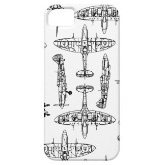iphone5 Spitfire Military Airforce History Plane iPhone 5 Covers
