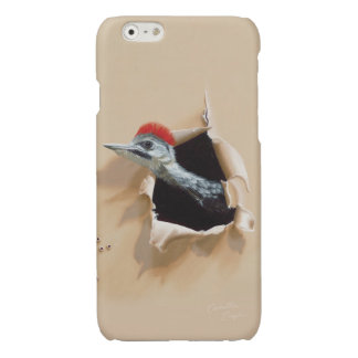 """iPhone6 Case """"Woodpecker"""" by Camille Engel"""