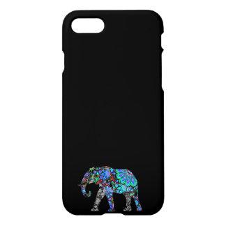 IPHONE6CASE- DECORATIVE BLUE ELEPHANT/GOODLUCK iPhone 8/7 CASE