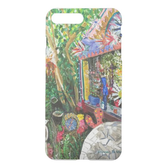 iPhone7+ Bowling Ball House Painting Case