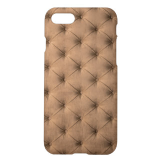 iPhone7 Case with brown capitone, Chesterfild st.