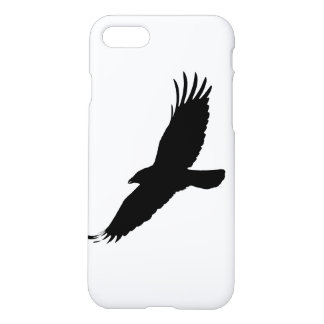 iPhone7 case  with flying crow.