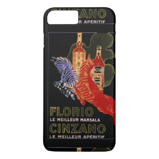 IPHONE8 PLUS  FASHION CHIC VINTAGE WINE POSTER iPhone 8 PLUS/7 PLUS CASE