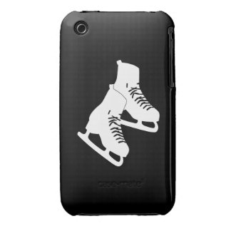 iPhone 3 Ice Skates Black iPhone 3 Cover