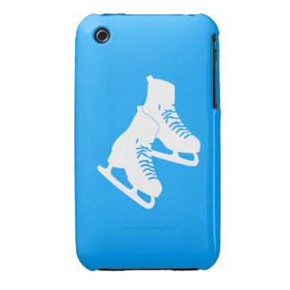iPhone 3 Ice Skates Blue iPhone 3 Cases