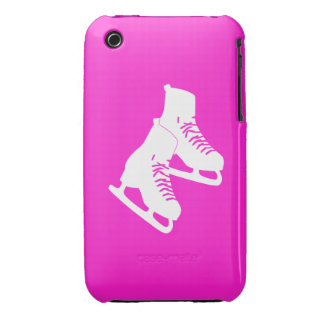 iPhone 3 Ice Skates Pink iPhone 3 Cases