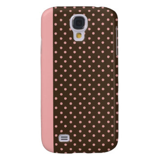 iPhone 3 Speck Case Brown with Pink Polka Dots
