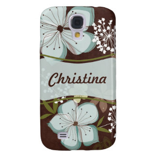 iPhone 3 Speck Case Hawaiian Blue Flowers