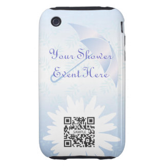 iPhone 3G/3Gs Case Template Bridal Shower iPhone 3 Tough Cover