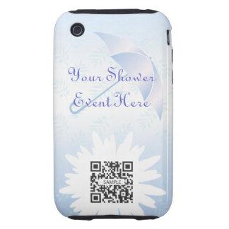 iPhone 3G/3Gs Case Template Bridal Shower iPhone 3 Tough Case