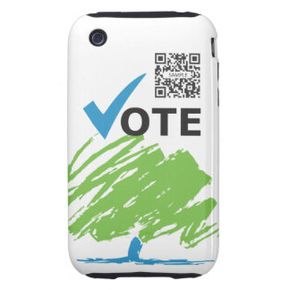 iPhone 3G/3Gs Case Template Conservative Party iPhone 3 Tough Case