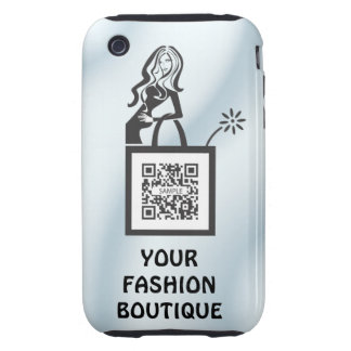 iPhone 3G/3Gs Case Template Shop Girl