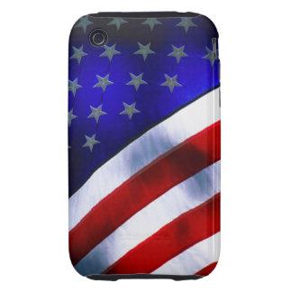 iphone 3G/3GS Tough Universal Case w/ American fla