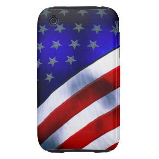iphone 3G/3GS Tough Universal Case w/ American fla Tough iPhone 3 Cases