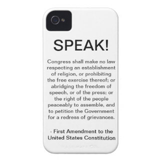 iPhone 4/4S Case - First Amendment
