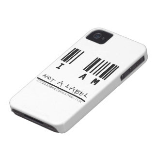 "iPhone 4/4s Case - ""Not a Label"""
