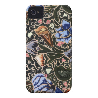 iphone 4/4s case with unique batik pattern#26b