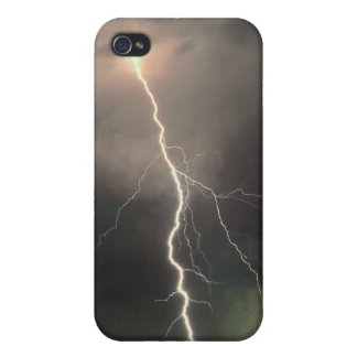 "iPhone 4/4S-Hard Shell Case ""Lightning"" iPhone 4 Covers"
