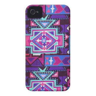 iPhone 4/4s Pink Navajo Case