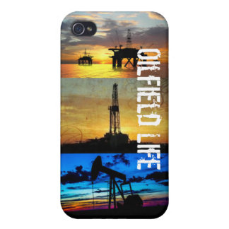 IPhone 4 and 4s Case: Oilfield Life iPhone 4/4S Cover