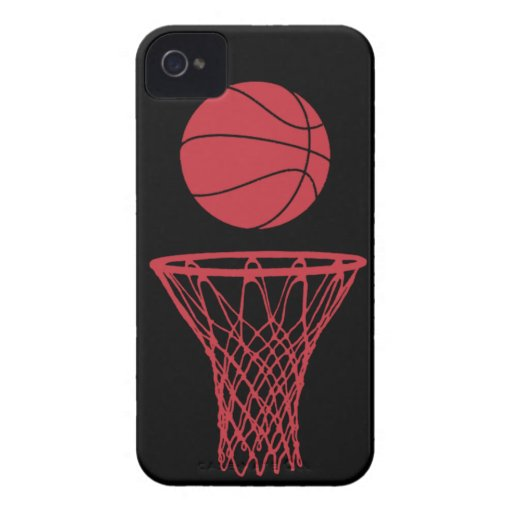 iPhone 4 Basketball Silhouette Bulls Black iPhone 4 Cover