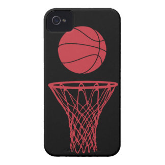 iPhone 4 Basketball Silhouette Bulls Black Case-Mate iPhone 4 Cases