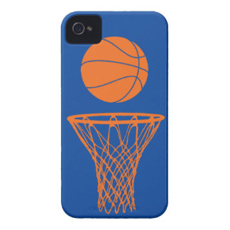 iPhone 4 Basketball Silhouette Knicks Blue iPhone 4 Cases