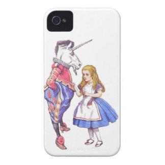 Iphone 4 case alice in wonderland design