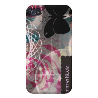 iPhone 4 case bohemian butterfly