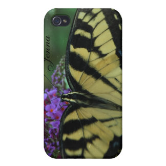 iPhone 4 Case Butterfly Personalized~ TST