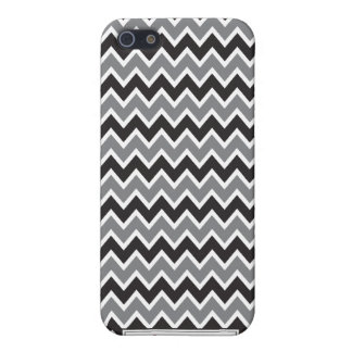 iPhone 4 Case Chevron Pattern (black)
