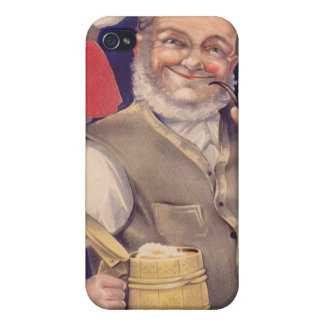 IPhone 4 Case: Estonian Man with Beer Cases For iPhone 4