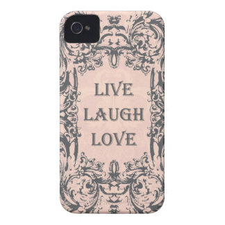 iphone 4 case.. .LIVE LAUGH LOVE iPhone 4 Covers
