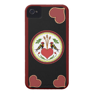 iPhone 4 Case - Long, Happy Relationship Hex v2