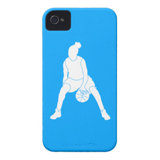 iPhone 4 Case-Mate Dribble Silhouette Blue