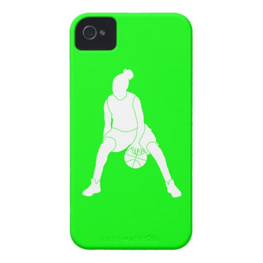 iPhone 4 Case-Mate Dribble Silhouette Green