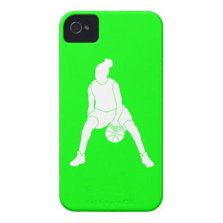 iPhone 4 Case-Mate Dribble Silhouette Green iPhone 4 Case-Mate Cases