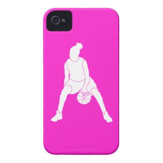 iPhone 4 Case-Mate Dribble Silhouette Pink iPhone 4 Covers