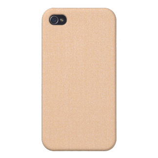 iPhone 4 Case - Textured Solid - Beige