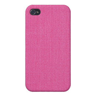 iPhone 4 Case - Textured Solid - Pink