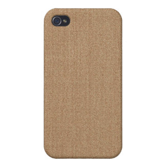 iPhone 4 Case - Textured Solid - Tan